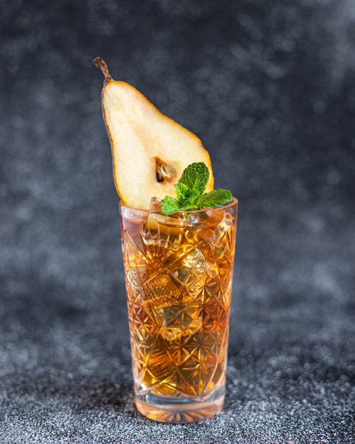 Cocktail « la passion du Manoir »